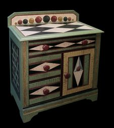 hand painted washstand