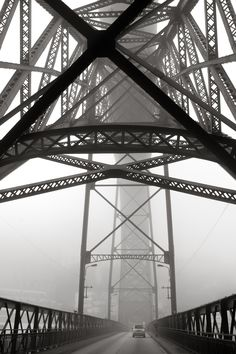 Black and White Photography: D.Luis Bridge - Porto - Potugal by Sharon Tenenbaum Exposure Photography, Urban Photography, Fine Art Photography, Street Photography, Travel Photography, Gaia, Fotografia Fine Art, Porto City, Natural Structures