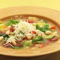 Escarole & White Bean Soup Recipe