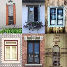 Windows by:  R1C1: @joanamfh R1C2: @biancagreenart R2C1: @bhernardourenco R2C2: @l_ilar.z R3C1: @bocchini.bruno R3C2: @berruetetelma  Congratulations!  Tag #windowsanddoorsoftheworld to be featured!