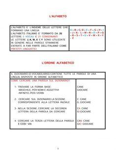 IL RICORDA REGOLE DI ITALIANO CLASSE 4^ | Blog di Maestra Mile Education, Blog, 3, Alphabet, Classroom, June, Teaching, Onderwijs, Learning