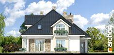 Dom w kokosach Classic House Design, Modern House Plans, Design Case, Home Fashion, Modern Farmhouse, Villa, Floor Plans, Flooring, Mansions