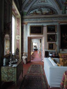 Palazzo Ravaschieri - Fuga prospettica al piano nobile - Genova