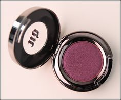 Urban Decay Last Call Eyeshadow. Blended with black and pink. My new fave!
