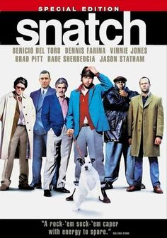 Snatch is the first movie I saw in British gangster genre and it was fresh. The style, acting and the cinematography was something that hasn't been seen before. Having actors like Brad Pitt, Benicio Del Toro, Jason Statham, Stephen Graham and Dennis Farina only helped with the action. The story involves an 84 carat diamond that triggers a multitude of events that follows in pursuing it. There's been many movies that copied same style since then but to me, this was a good start of that genre.