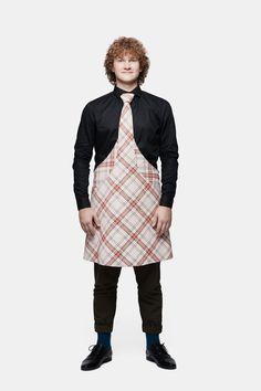 @tieapron Design: Andres Labi, Model: Mart, Photo: Stuudio7 Apron, Tie, Model, Design, Fashion, Moda, Fashion Styles, Cravat Tie