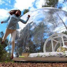 Promo Wnnideo Gonflable tente de camping en plein air tente De Luxe Transparent bulle maison Gonflable transparent tente Creative ronde tente #Wnnideo #Gonflable #tente #camping #plein #Luxe #Transparent #bulle #maison #transparent #Creative #ronde