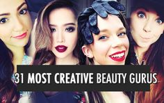 31 Most Popular & Creative Beauty Vloggers on Youtube http://www.twelveskip.com/guide/vlogging/1260/popular-creative-beauty-gurus-on-youtube