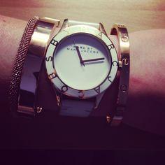 Marc Jacobs watch / Michael Kors bracelet