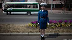 North Korean Traffic Cop