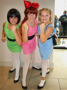 power puff girls costumes for halloween