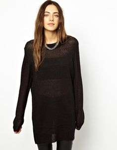 Image 1 of Cheap Monday Sweater With Neck Detail