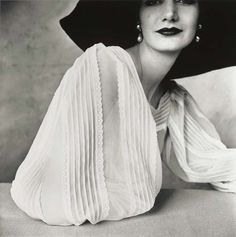 Sunny Hartnett - Large Sleeve, New York, 1951.by Irving Penn: