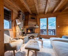 Cosy wooden living room in the heart of Portes du Soleil