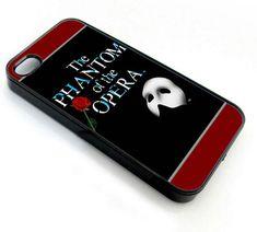 Phantom of The Opera - iPhone 4 Case - Yo lo quiero! Cool Cases, Cool Phone Cases, Phantom Of The Opera, Phantom 3, Iphone 4s, Iphone Cases, Black Butler, Samsung Galaxy S5, Plastic Case