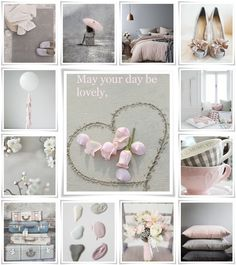 moodboard by audrey May your day be lovely. Inspiration Wand, Color Inspiration, Collages, Pot Pourri, Color Collage, Mood Colors, Beautiful Collage, Gris Rose, Jolie Photo