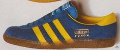 Originals - Stockholms from 1979 - pure classic terrace wear, now worth ££££ in this condition