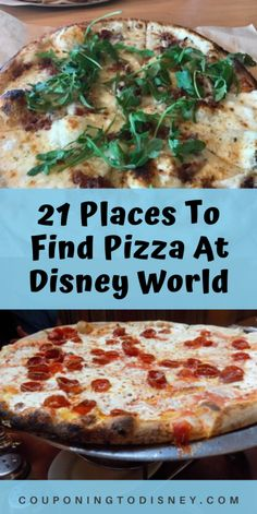 21 Places To Find Pizza At Disney World