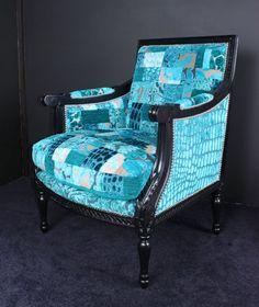 Patchwork Louis XVI Tub Chair