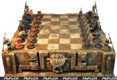 Aliens vs Predator Chess Set.