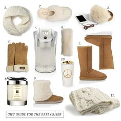 GIFT GUIDE FOR THE EARLY RISER
