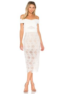 ASILIO The Nadia Dress in Cloud White | REVOLVE