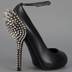 Giuseppe Zanotti spiked heel ankle strap pump by lakeisha