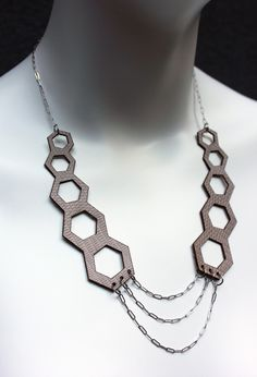 Image of Honeycomb Necklace by Kelly Horrigan