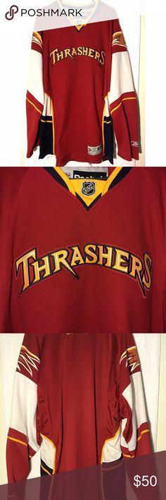 2016804cfa7 Rare Atlanta Thrashers Reebok Jersey Mens 2XL Reebok Atlanta Thrashers hockey  jersey in men's size 2XL