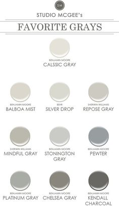 2016 Paint Color Ideas for your Home - Home Bunch - An Interior Design & Luxury Homes Blog