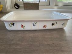 Villeroy & Boch Petite fleur ildfast form | FINN.no Fine Porcelain, Dog Bowls, Pictures