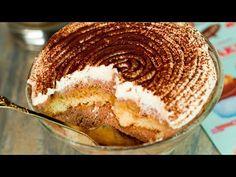 "Na dort už si ani nevzpomenete: nejchutnější dezert ""TIRAMISU""| Chutný TV - YouTube Bts Aesthetic Pictures, Rum, Good Food, Banana, Sweets, Ethnic Recipes, Tailgate Desserts, Recipes, Vanilla Sponge Cake"