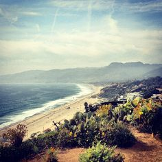 You are beautiful, Malibu. #SoCal #cali #vacation #sightseeing #sky #ocean #aboveall