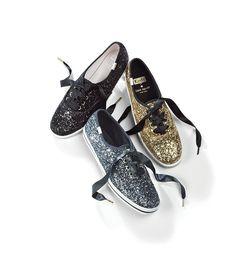 ed3a133e13d Keds x kate spade new york Glitter Keds Sneakers