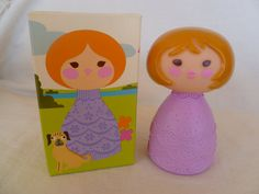 Avon Small World Doll New In Box Bubble Bath