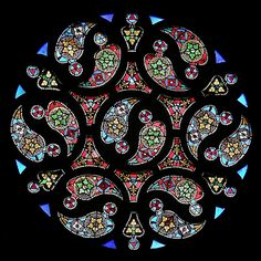 Beautiful  rose window