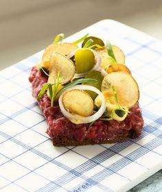 Tartar: smørrebrød fra Aamanns Deli og Takeaway - Gastro