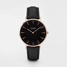 CLUSE La Bohème Rose Gold Black/Black CL18001