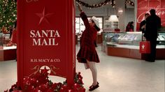 Christmas time. Happy New Year. Santa mail.