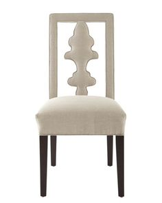 """Benjamin"" Carved-Back Chair by Haute House at Neiman Marcus."