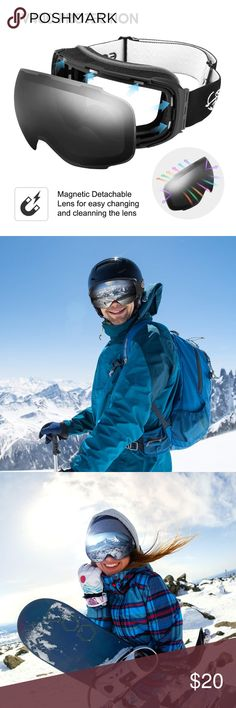 308cbc7d1b0 NEW ENKEEO Ski Goggles - Detachable Dual Layer New in box! ENKEEO Ski  Goggles -
