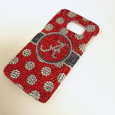 Alabama Crimson Tide bling case Bling Galaxy S6 by BlingAttack