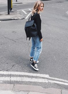 justthedesign:   Ankle high converse look edgy and... - TheStyleShaker.com