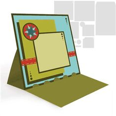 Silhouette Online Store: easel card- star by SnapDragon Snippets