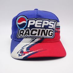 e02e9b4b1ecdd Jeff Gordon 24 Nascar Pepsi Racing hat - Snapback cap - Chase Authentics   ChaseAuthentics  BaseballCap
