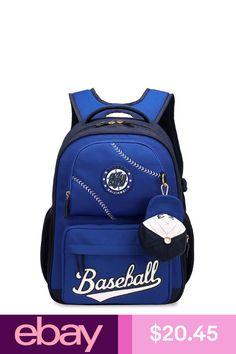 Girls  Accessories Kids School Bag For Boys School Backpack Girl Book Bag  Rucksack Baseball Charm 9072ef4e7efe3