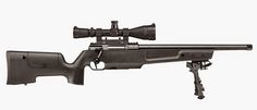 For long-range shooters, Sig Sauer offers the SSG3000 Patrol rifle in .308 Win. Available with either a compact 18 inch or standard 24 inch barrel, it comes threaded
