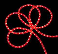 18' Festive Red Indoor/Outdoor Christmas Rope Lights by VCO. $27.99. 18 Foot Long Christmas Rope LightsItem #V491813Product Features:Tube color: redBulb color: redBulb spacing: 1 inchesLighted length: 18 feetApproximate thickness: 0.5 inch diameterWire gauge: 1860 inch (5 foot) white lead cordAdditional Product Features:Super bright incandescent bulbsFlexible and easy to installFREE mounting hardware is includedUL listed for indoor and outdoor use120 volts, 60 h...