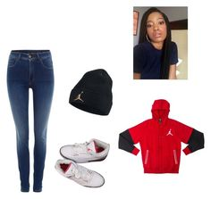 Jordans by diovion-doakes on Polyvore featuring Salsa and NIKE