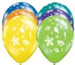Smiling Sea Creatures Latex Balloons, 11"